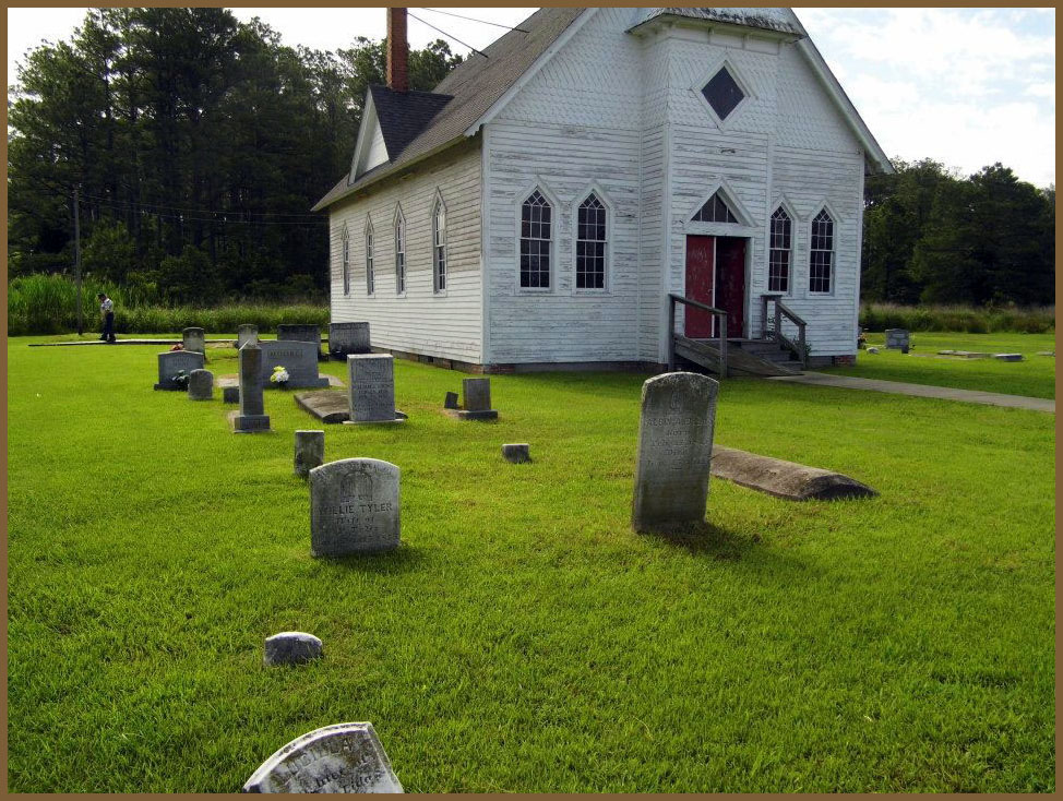 Wesley Chapel and Graveyard