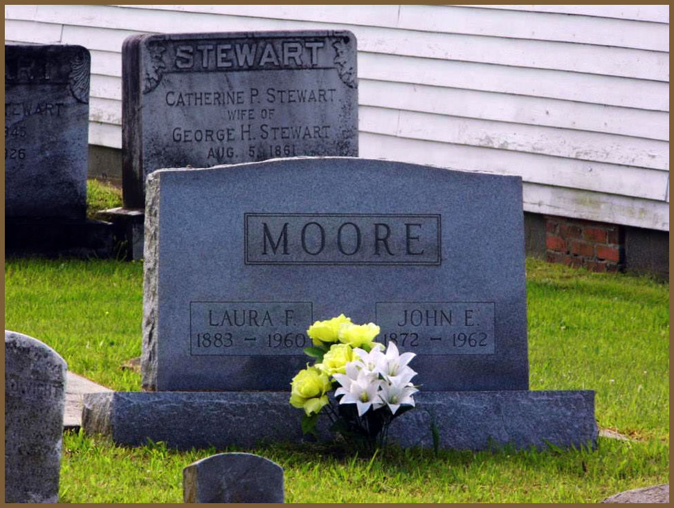 Moore and Stewart Grave Site