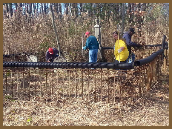 Hardesty Cemetery Cleanup