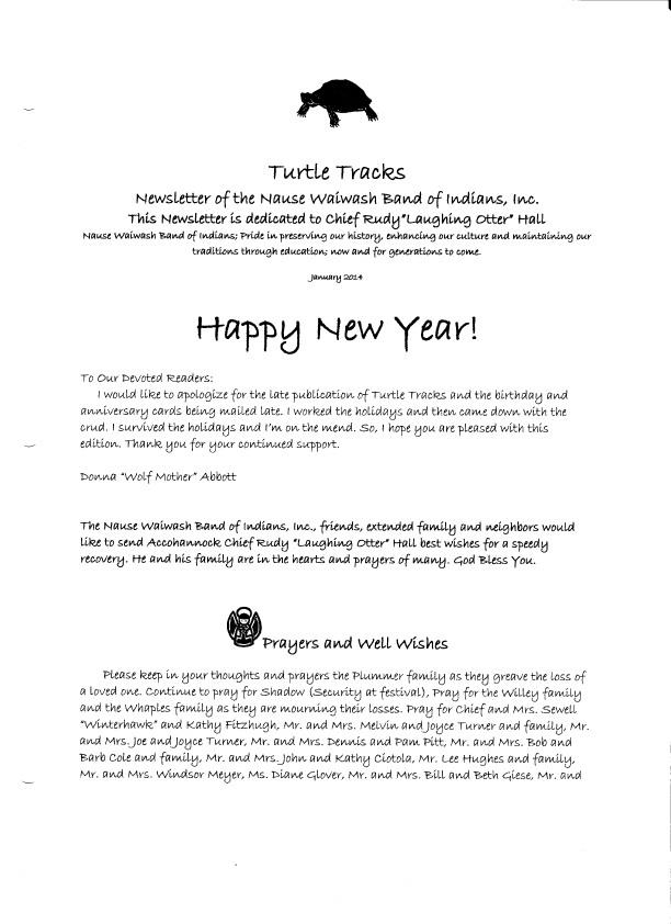 January 2014 Page 1