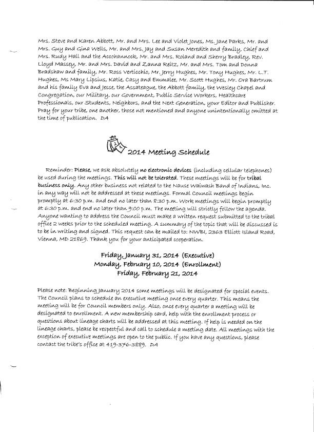 January 2014 Page 2