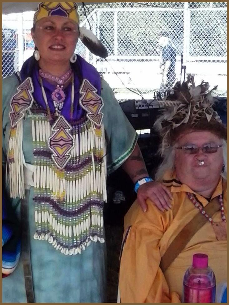 Rie Miller & Chief Sewell Winter Hawk Fitzhugh