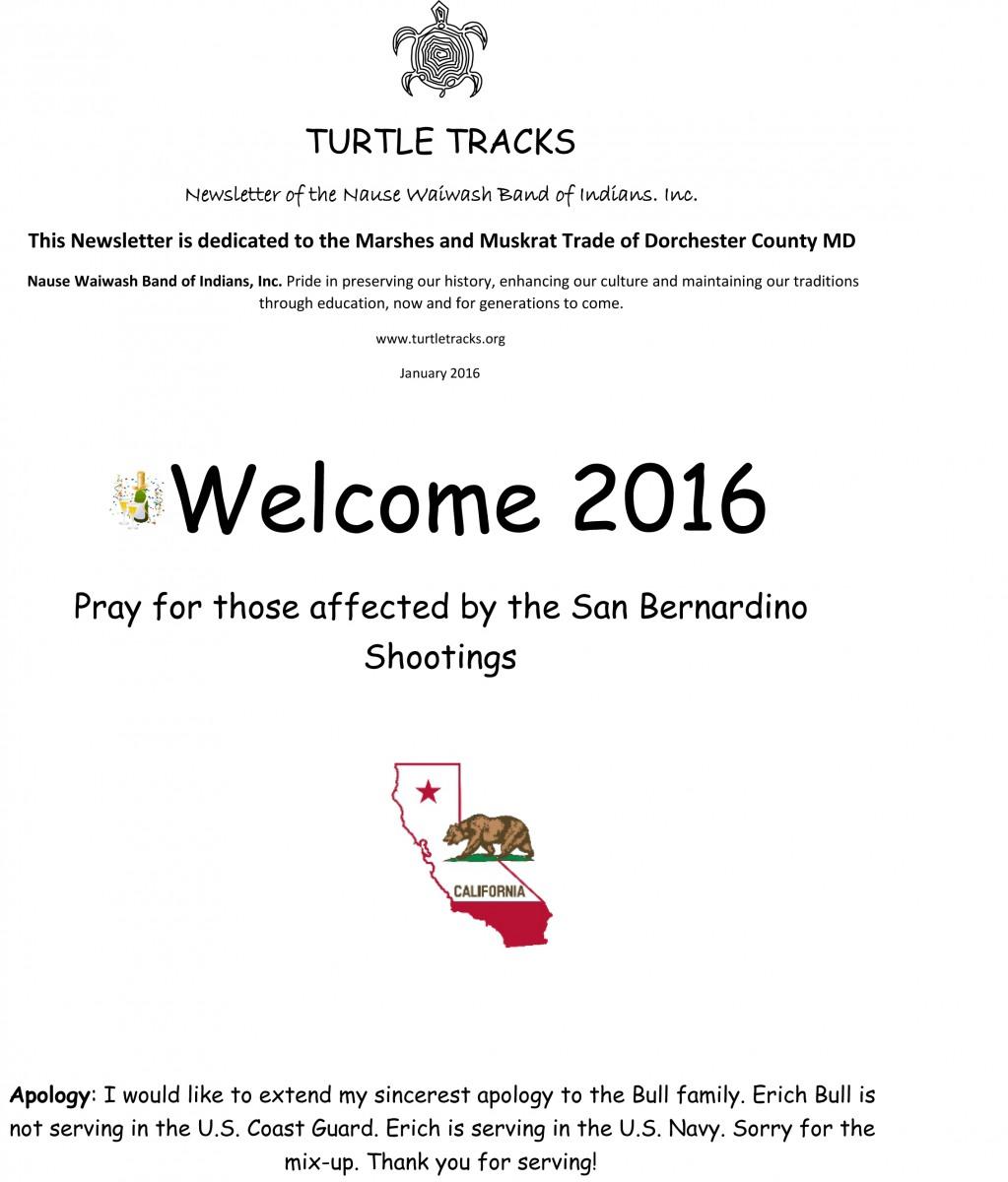 January 2016 Page 1