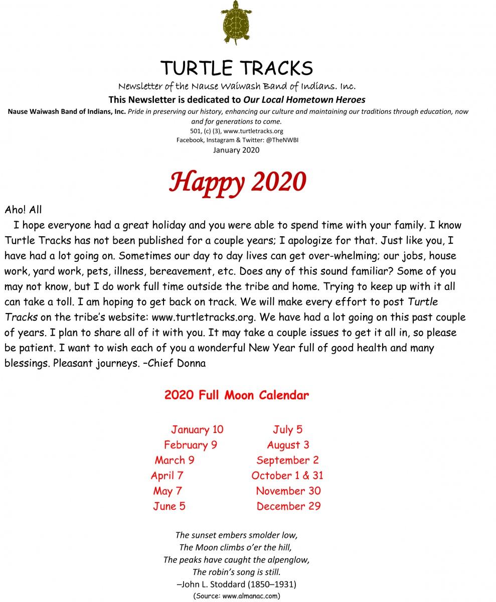 January 2020 Page 1